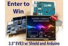 EVE3 and Arduino Giveaway