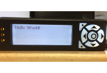 Python Code for Matrix Orbital Intelligent Serial LCD's