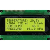 20x4 Character lcd display
