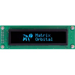 20x2 Character oled display